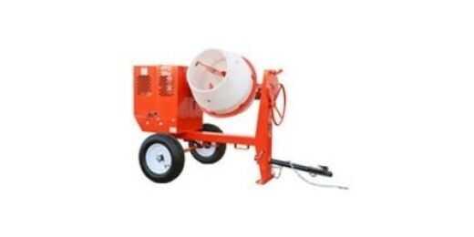 Towable Concrete Mixer