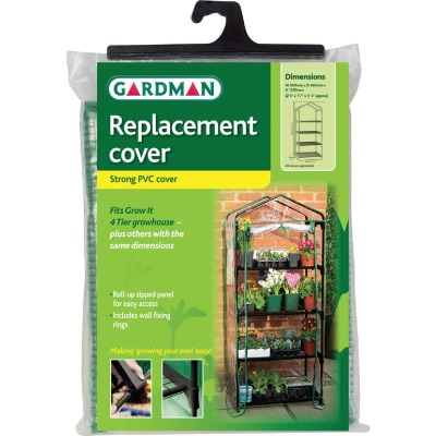 Gardman 18 In. W. x 63 In. H. x 27 In. D. Replacement Cover For 4-Tier Greenhouse