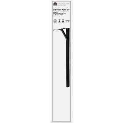Gibraltar Steel Square Drive-In Mailbox Post Kit
