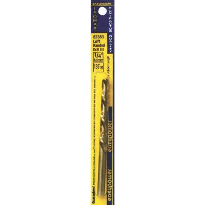 Eazypower 1/4 In. High Speed Steel 135 deg Left Hand Drill Bit