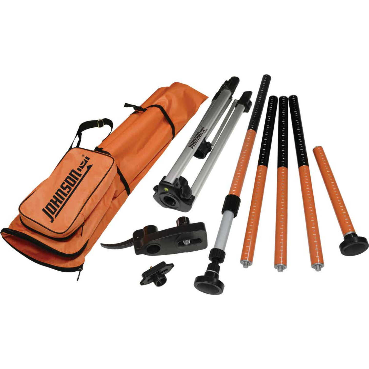 Johnson Level All-In-One Laser Mounting Pole with Tripod Image 1