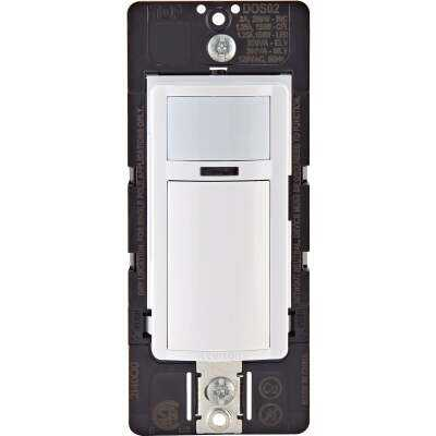 Leviton Decora White 900 Sq. Ft. Coverage 180 Deg. Detection Occupancy Sensor Switch