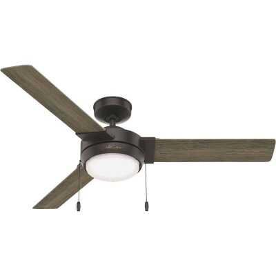 Hunter Mesquite 52 In. Noble Bronze Ceiling Fan with LED Light Kit