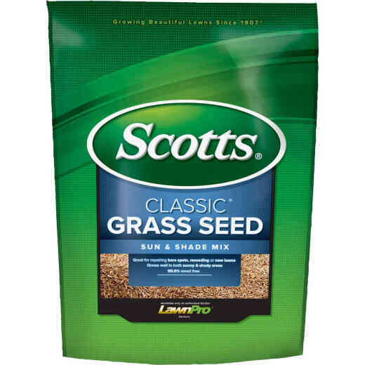 Scotts Classic 3 Lb. 1200 Sq. Ft. Coverage Sun & Shade Grass Seed