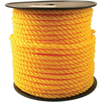 Do it 1/2 In. x 200 Ft. Yellow Twisted Polypropylene Rope