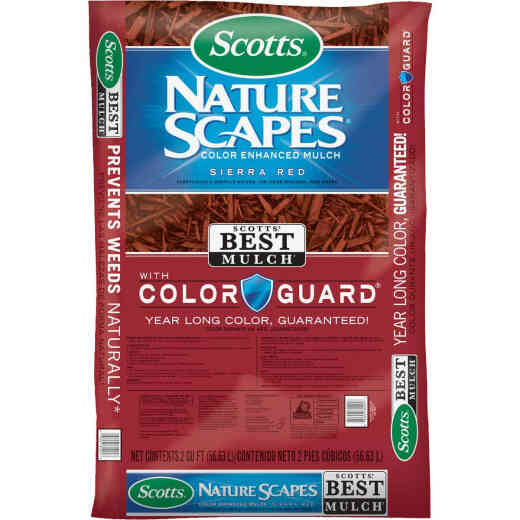 Scotts Nature Scapes 2 Cu. Ft. Sierra Red Shredded Hardwood Mulch