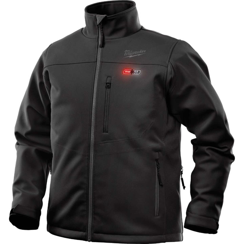 Milwaukee M12 Large Black Cordless Heated Jacket Kit Image 1