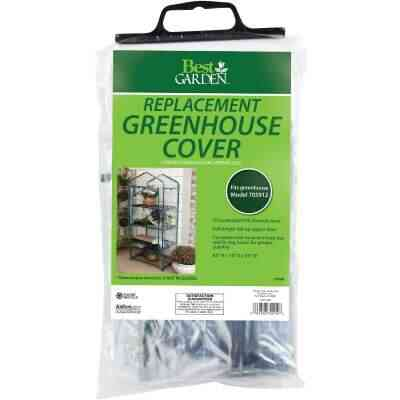 Best Garden 27 In. W. x 63 In. H. x 19 In. D. Replacement Cover For 4-Shelf Greenhouse