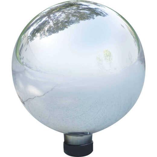 Alpine 10 In. Dia. Electric Silver Glass Gazing Globe