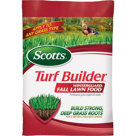 Scotts Turf Builder WinterGuard 12.5 Lb. 5000 Sq. Ft. 32-0-10 Winterizer Fall Fertilizer