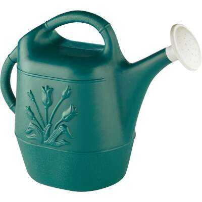 United Products 2 Gal. Hunter Green Poly Watering Can