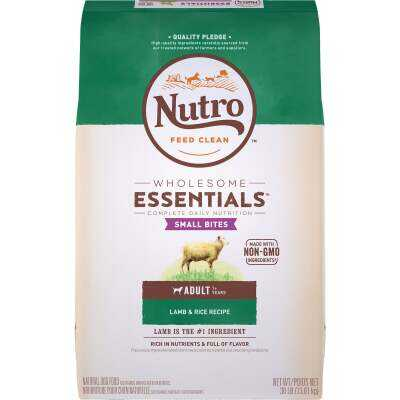 Nutro Wholesome Essentials Small Bite 30 Lb. Lamb & Rice Adult Dry Dog Food
