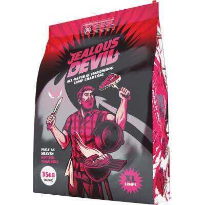 Jealous Devil 35 Lb. Hardwood Lump Charcoal
